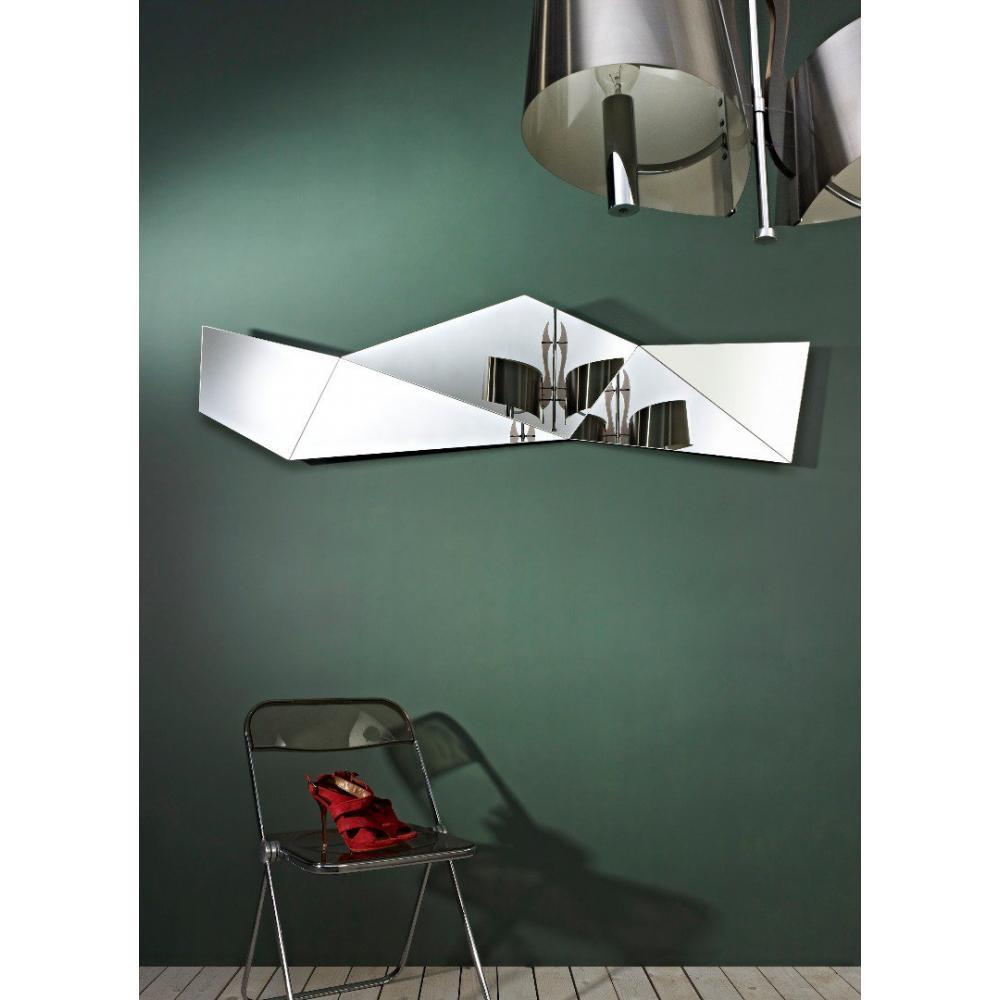 Miroirs meubles et rangements machupicchu miroir mural for Meuble mural en verre