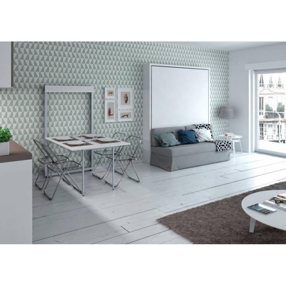 armoire lit canap armoires lits escamotables armoire lit verticale magic canap int gr 160. Black Bedroom Furniture Sets. Home Design Ideas