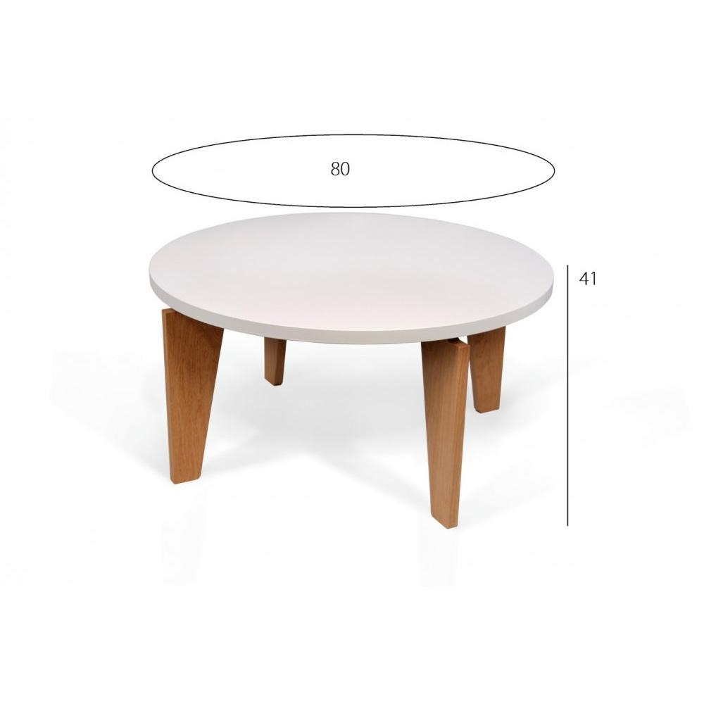 Tables basses tables et chaises temahome lot de tables basses magnolia blan - Tables basses blanches ...