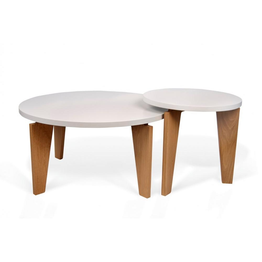 table blanche et bois table de salle manger en bois et m tal blanche l 150 cm igloo maisons du. Black Bedroom Furniture Sets. Home Design Ideas