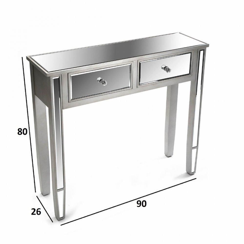 consoles tables et chaises marsala console design en bois 2 tiroirs inside75. Black Bedroom Furniture Sets. Home Design Ideas