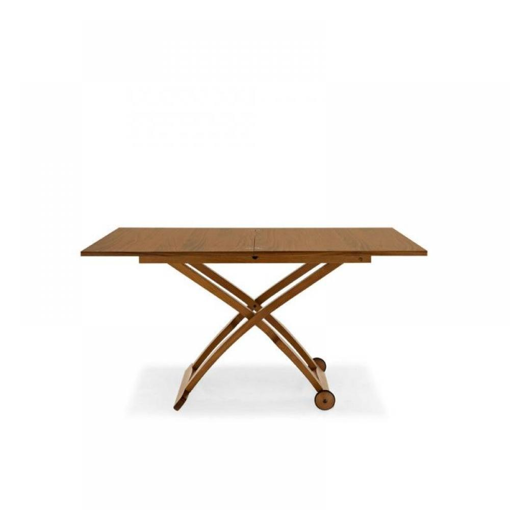 Table relevable et extensible mascotte wenge - Table extensible wenge ...