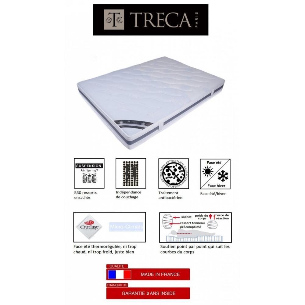 Matelas treca imperial air spring longueur 200 cm bed mattress sale - Matelas treca air spring 600 ...