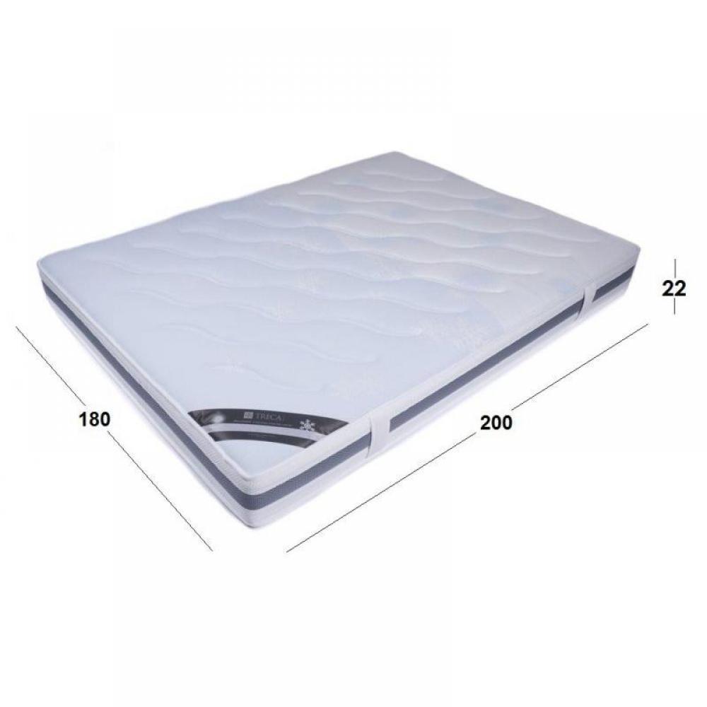 matelas chambre literie matelas treca air spring 530 king size avec outlast 180 200 cm. Black Bedroom Furniture Sets. Home Design Ideas