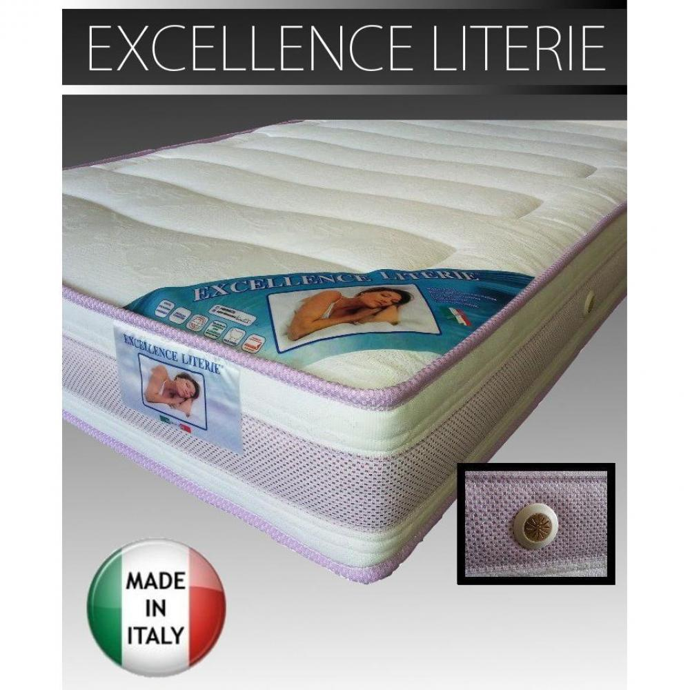 matelas chambre literie matelas 160 190 cm excellence literie paisseur 18 cm inside75. Black Bedroom Furniture Sets. Home Design Ideas