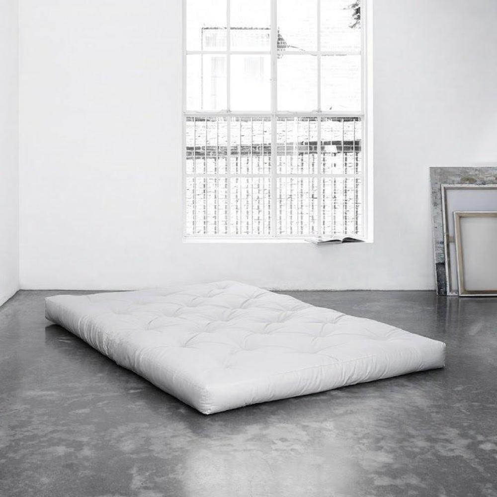 matelas futon chambre literie matelas futon confort 120 200 15cm inside75. Black Bedroom Furniture Sets. Home Design Ideas