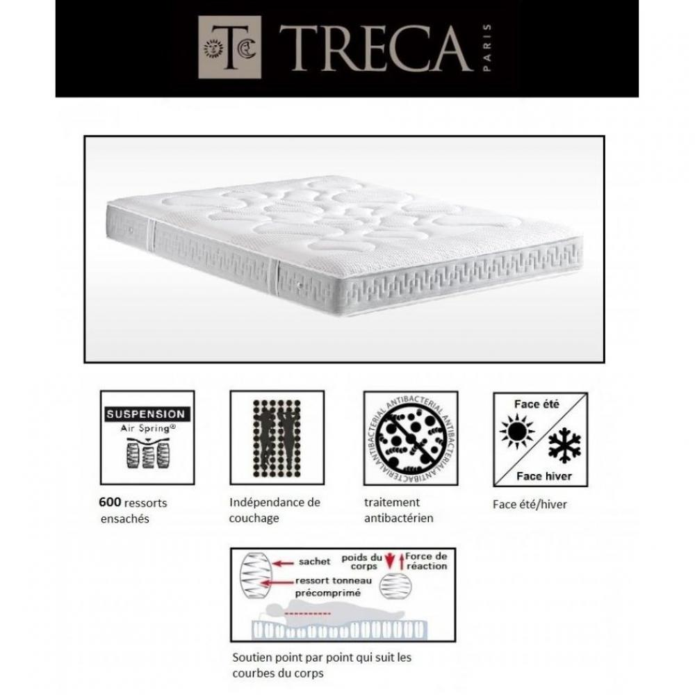 Ventes flash matelas treca luna 140 190 cm suspension air spring 600 resso - Matelas treca air spring 600 ...