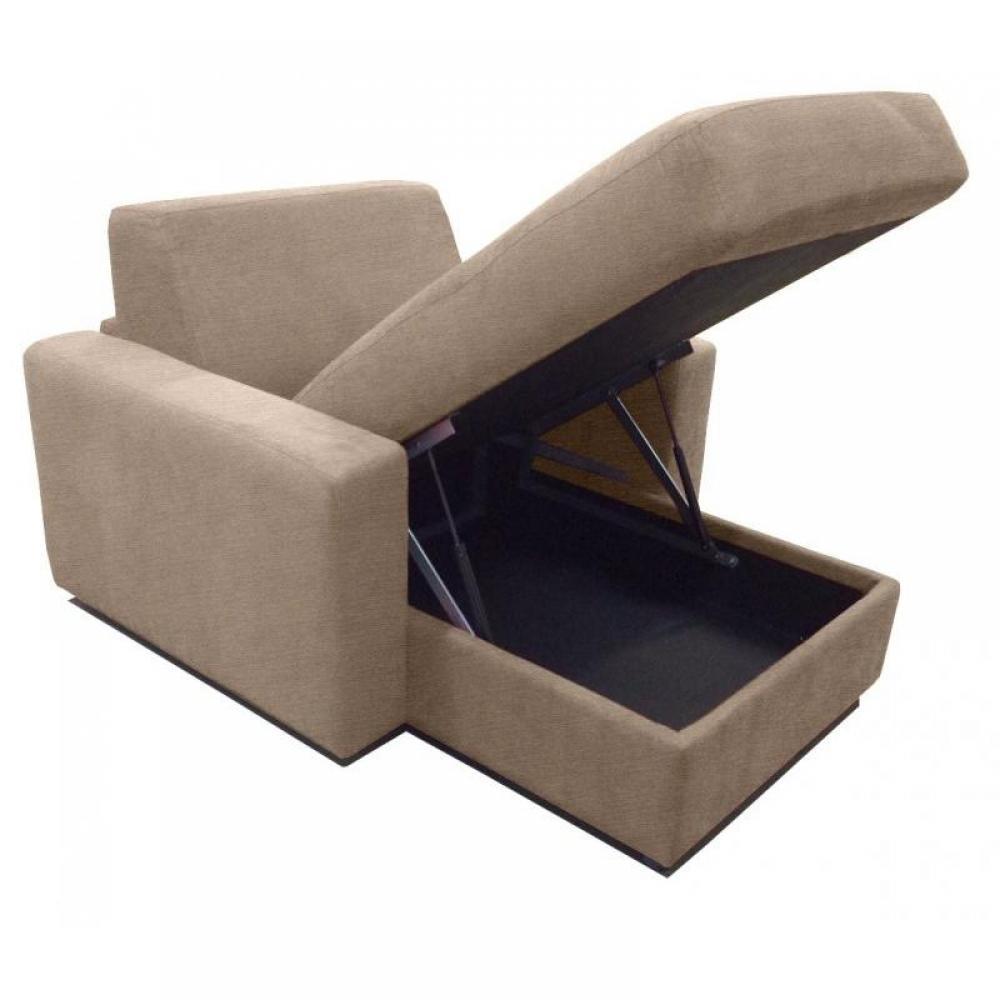 M ridiennes canap s et convertibles m ridienne coffre lounge cuir ou tissu - Meridienne coffre rangement ...