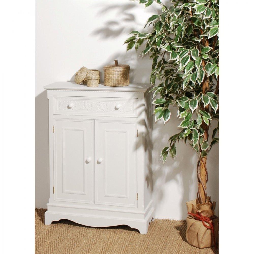 Buffets meubles et rangements meuble 2 portes 1 tiroir for Meuble 2 tiroirs