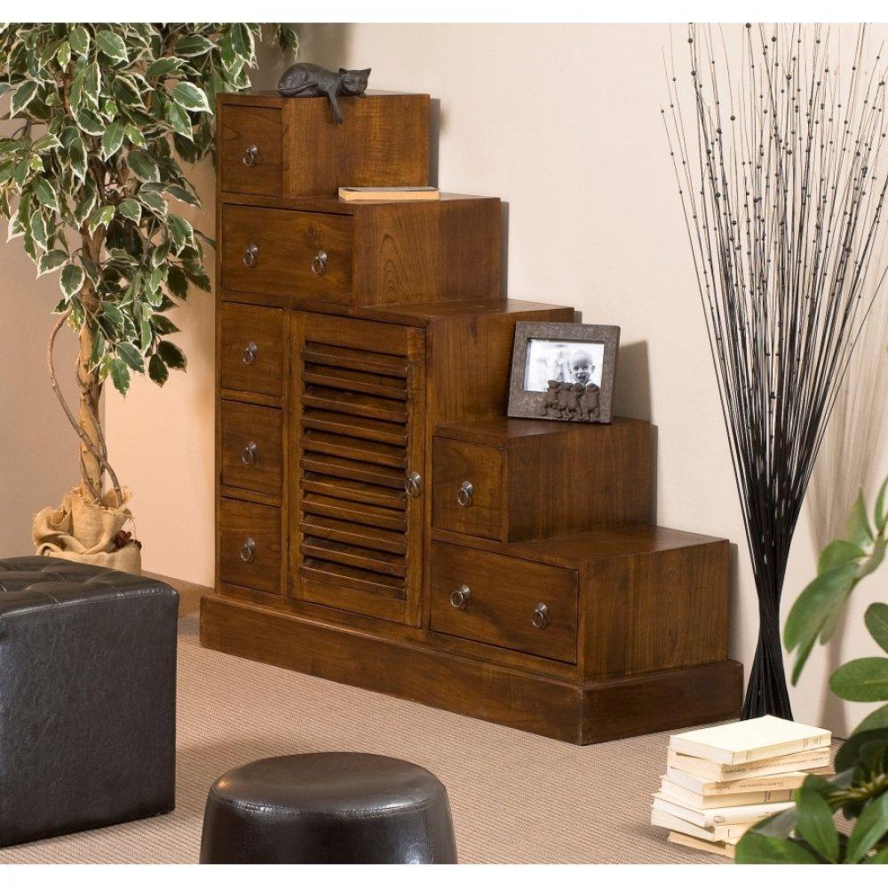 Commodes meubles et rangements meuble escalier grand - Meuble tv escalier ...