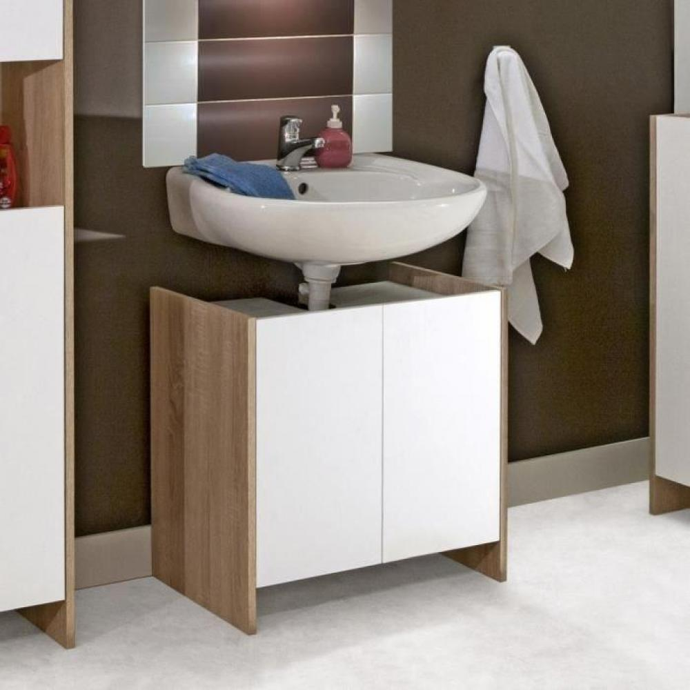 meubles salle de bain meubles et rangements meuble sous vasque dova design ch ne 2 portes. Black Bedroom Furniture Sets. Home Design Ideas