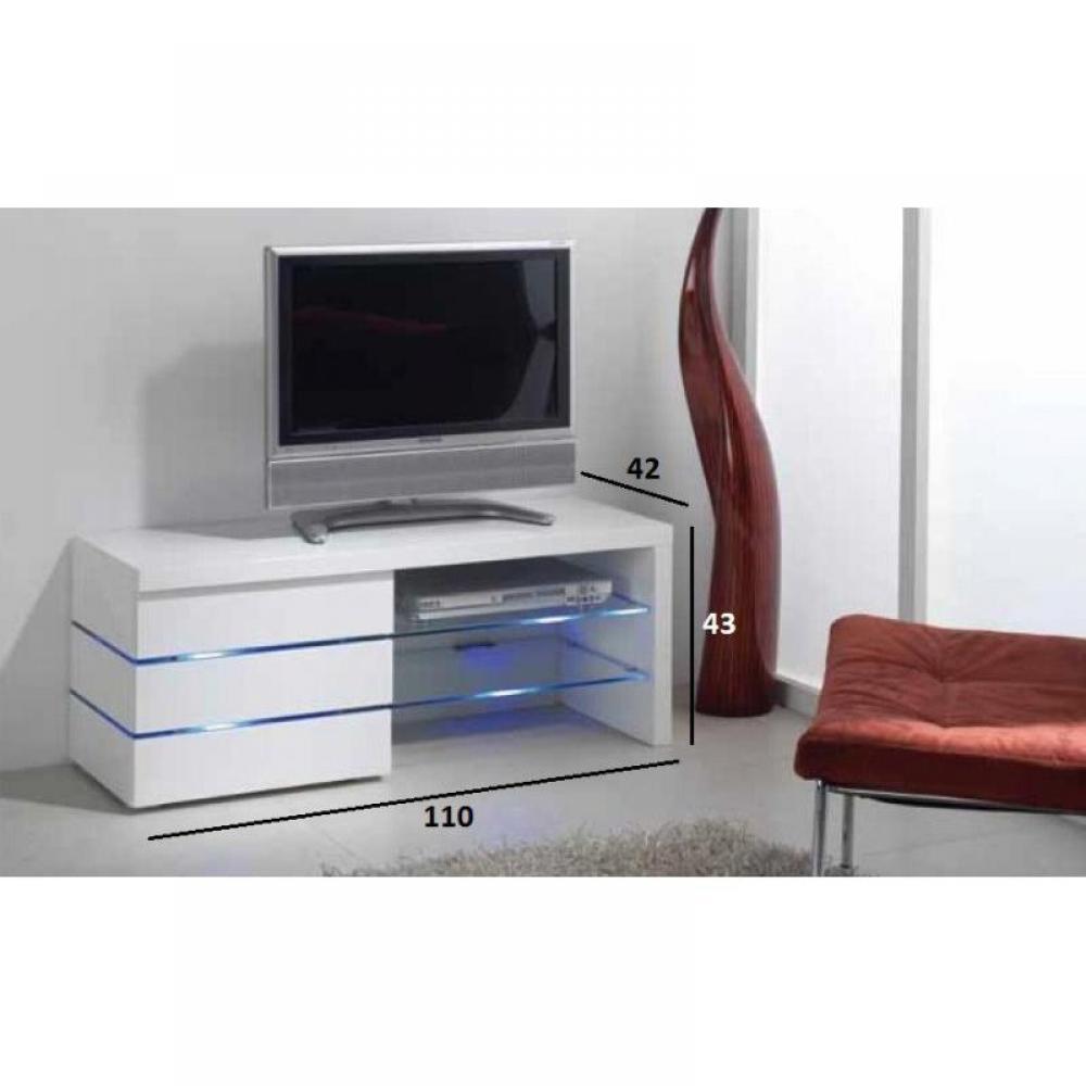 Meubles tv meubles et rangements meuble tv leon blanc for Meubles montreal leon