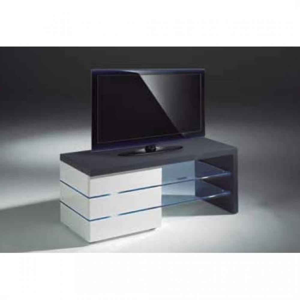 Meuble verre guide d 39 achat for Meuble tele a led