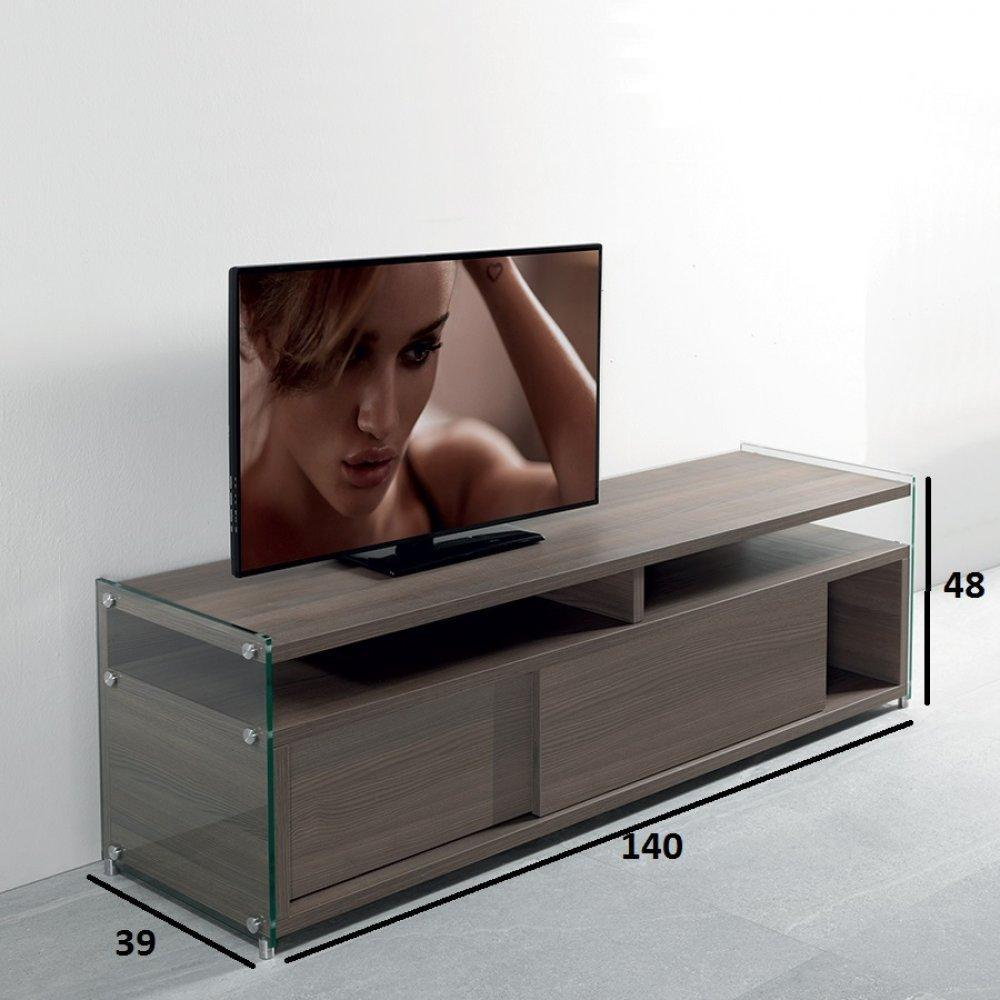 meubles tv meubles et rangements meuble tv talac orme. Black Bedroom Furniture Sets. Home Design Ideas