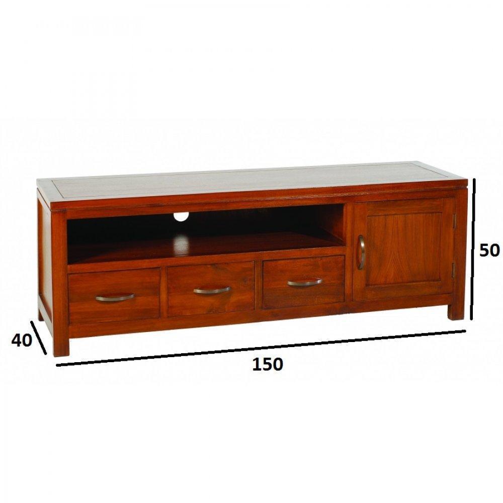 meuble bas 3 tiroirs maison design. Black Bedroom Furniture Sets. Home Design Ideas