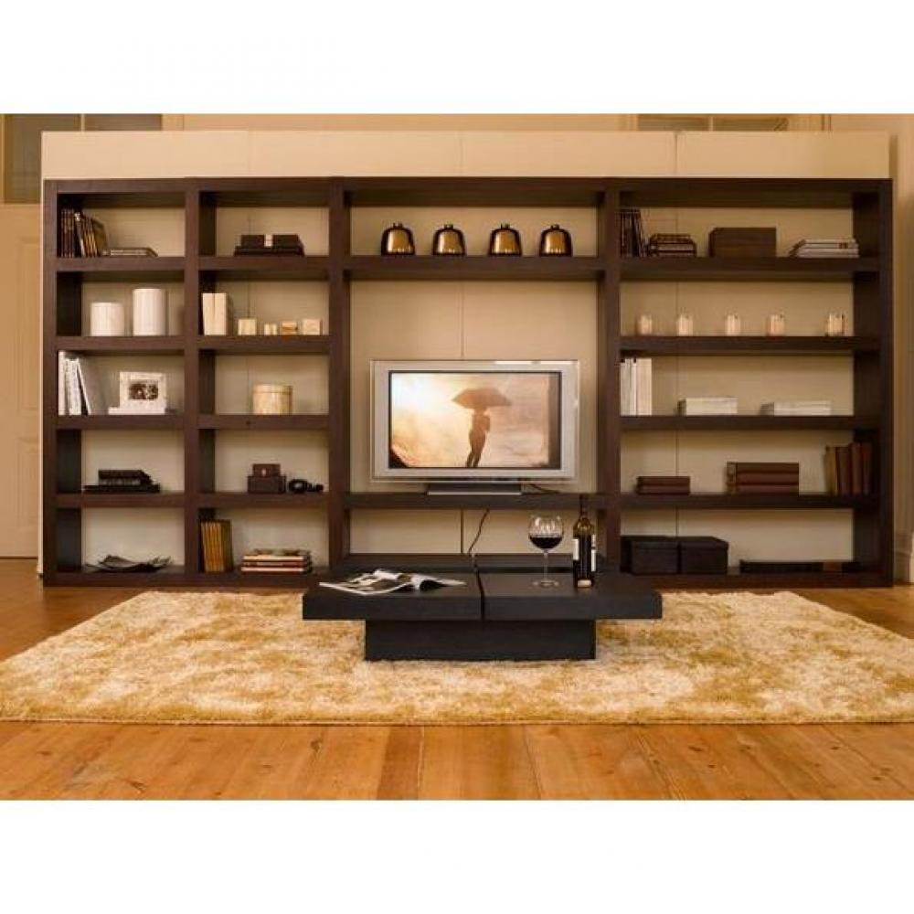 bibliotheque meuble tv. Black Bedroom Furniture Sets. Home Design Ideas