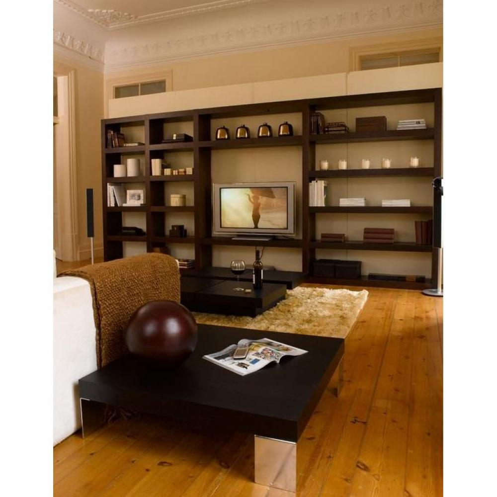 meuble bibliotheque cache tv solutions pour la. Black Bedroom Furniture Sets. Home Design Ideas