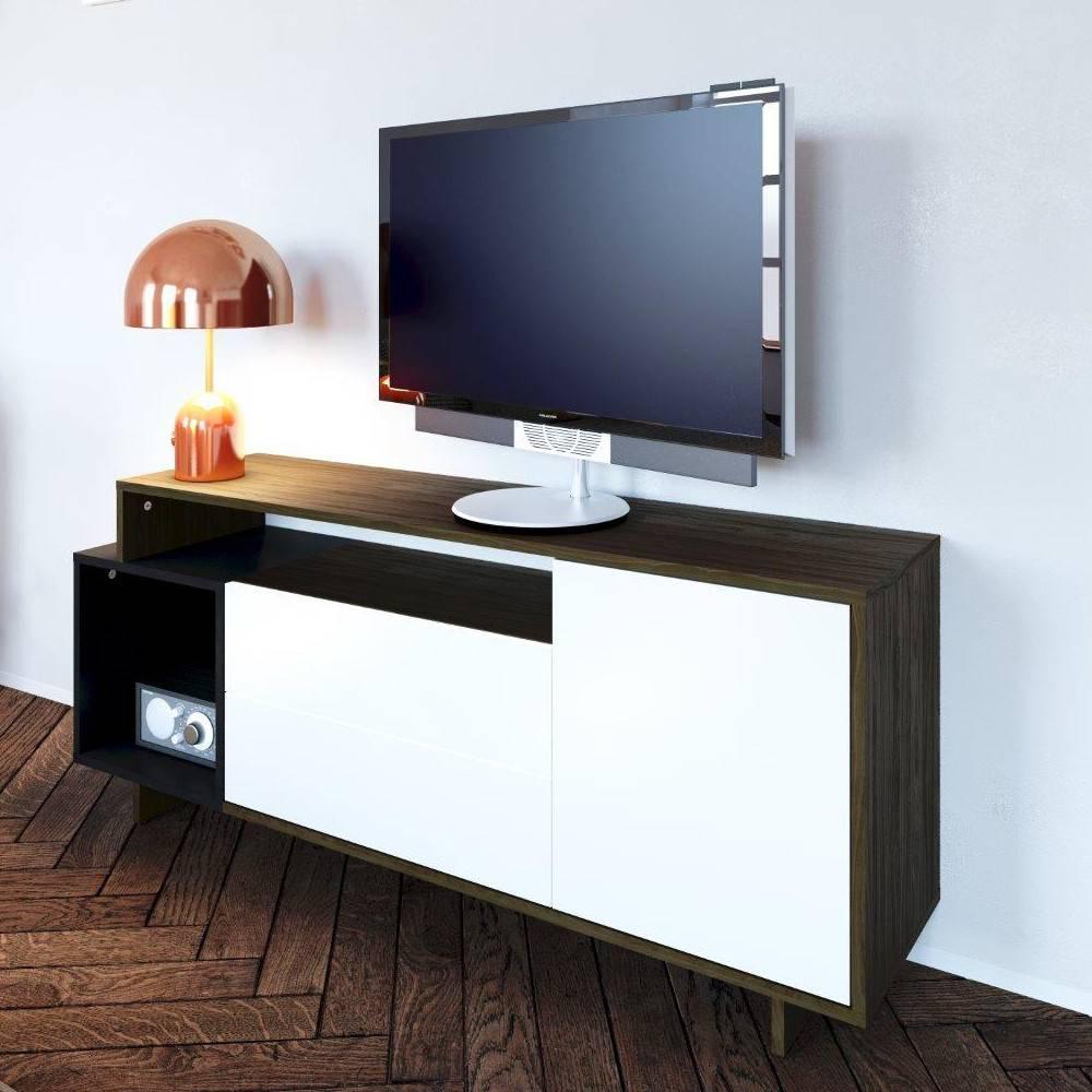 meuble tv scandinave noir solutions pour la d coration. Black Bedroom Furniture Sets. Home Design Ideas