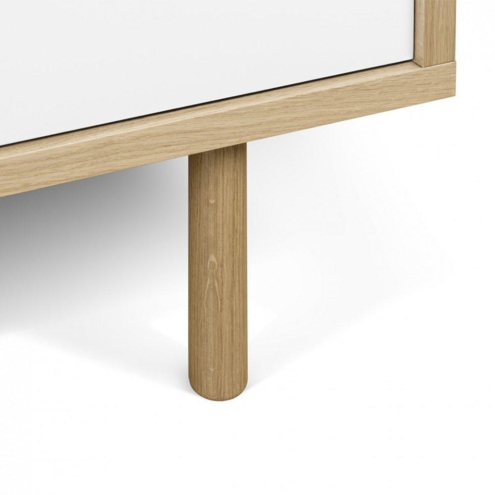 Meuble tv scandinave chene - Meuble tv avec porte coulissante ...