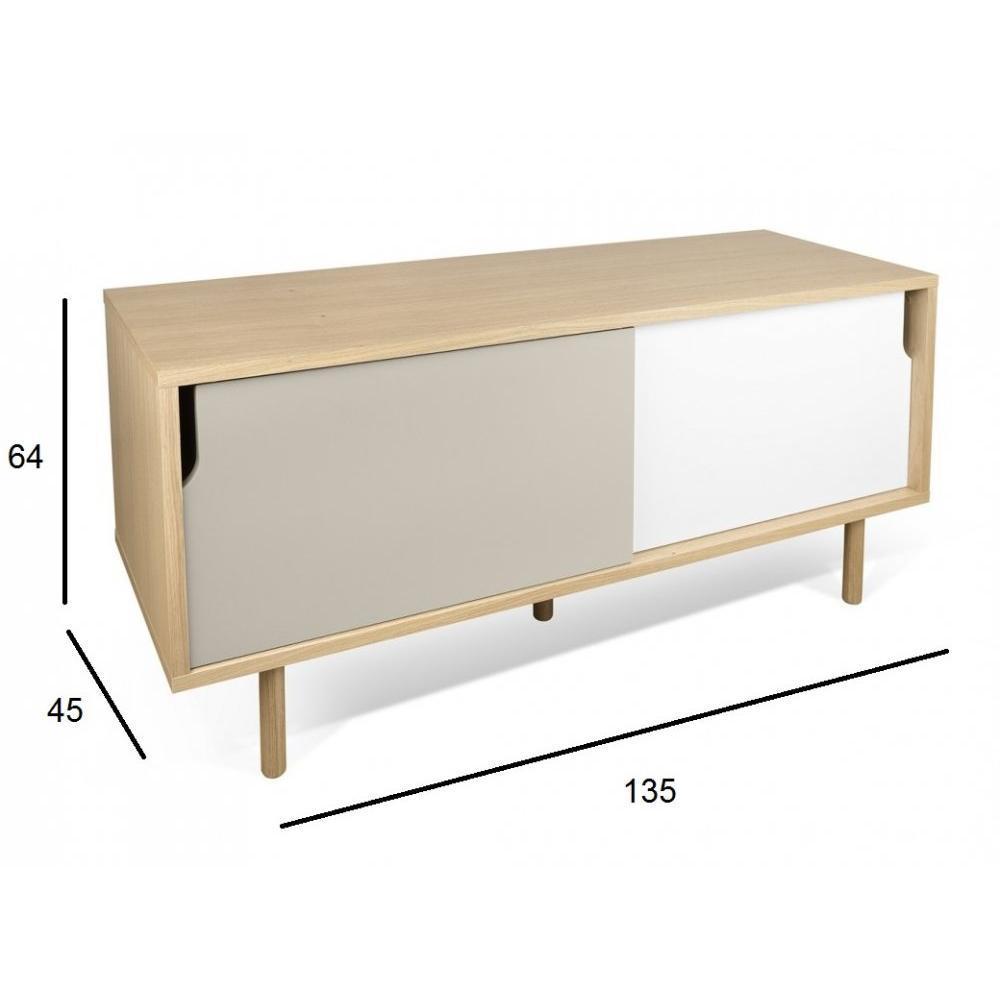 Meubles tv, meubles et rangements, Temahome meuble TV DANN ...