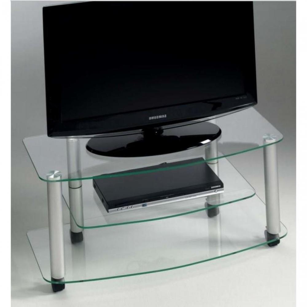 Meubles tv meubles et rangements meuble tv effel design for Meuble tv en verre design