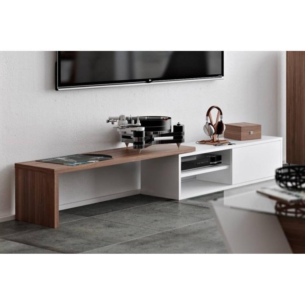 Meubles tv meubles et rangements temahome meuble tv for Meuble tv porte coulissante