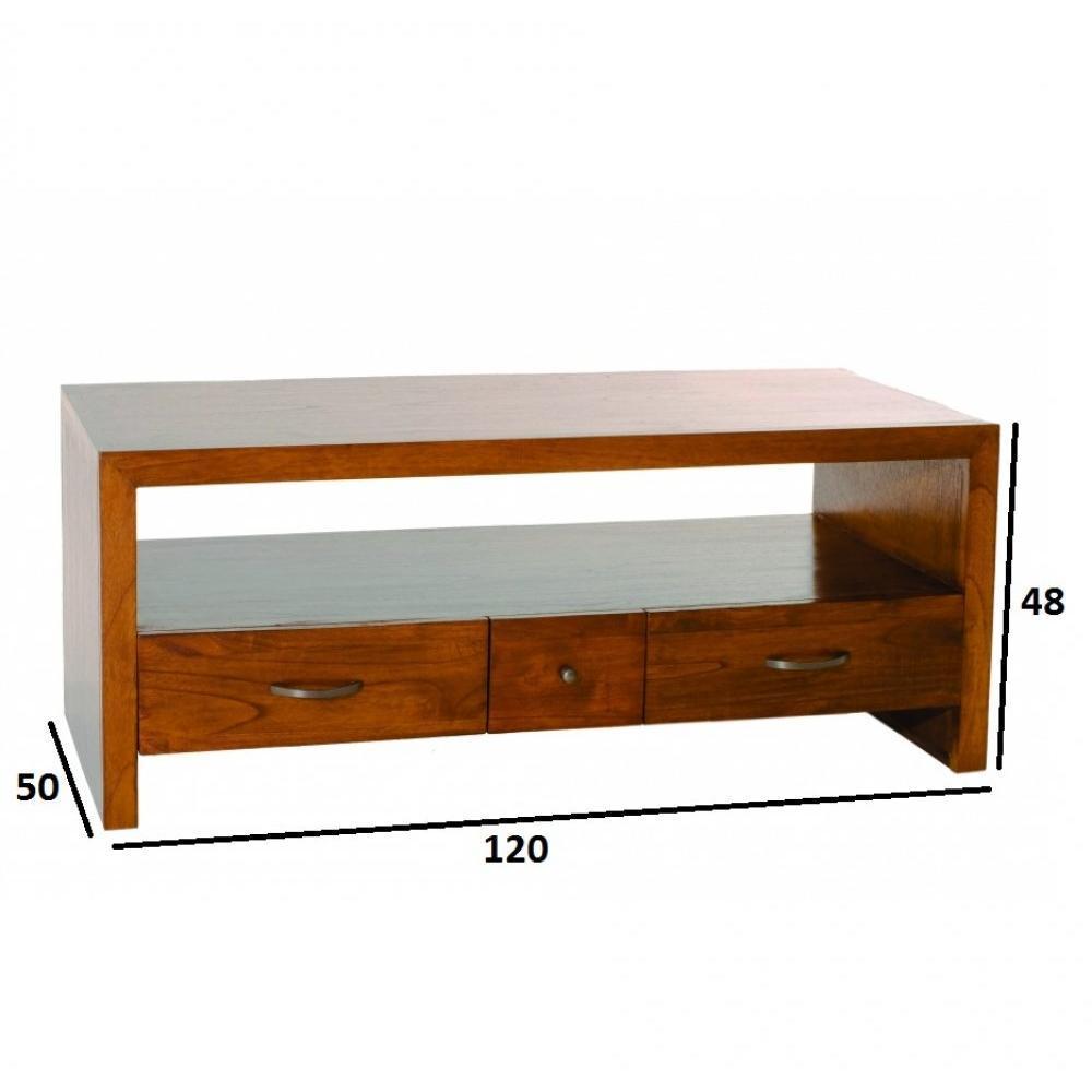 Meubles tv meubles et rangements meuble tv lauren lorine for Meuble colonial