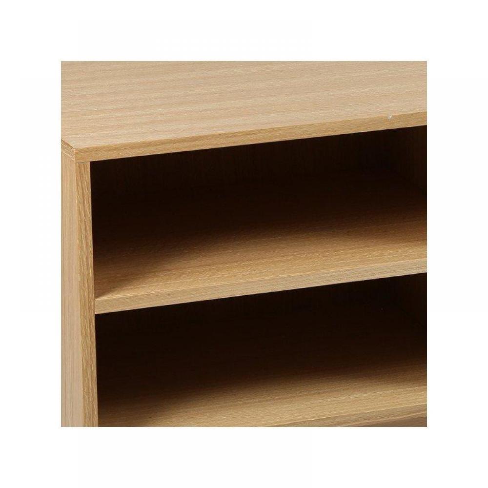 meubles tv meubles et rangements meuble tv olga en ch ne massif inside75. Black Bedroom Furniture Sets. Home Design Ideas