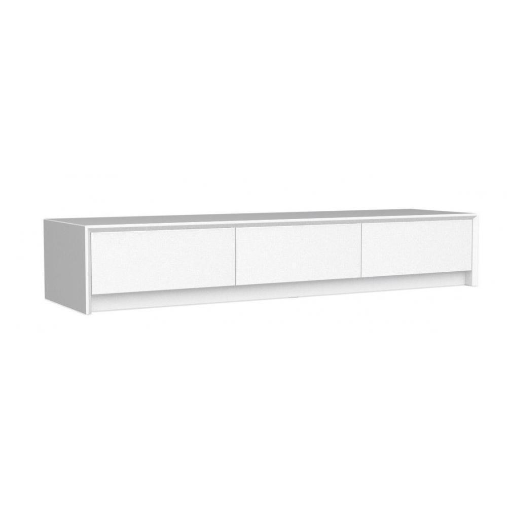 Meubles tv meubles et rangements calligaris meuble tv for Meuble blanc a tiroirs