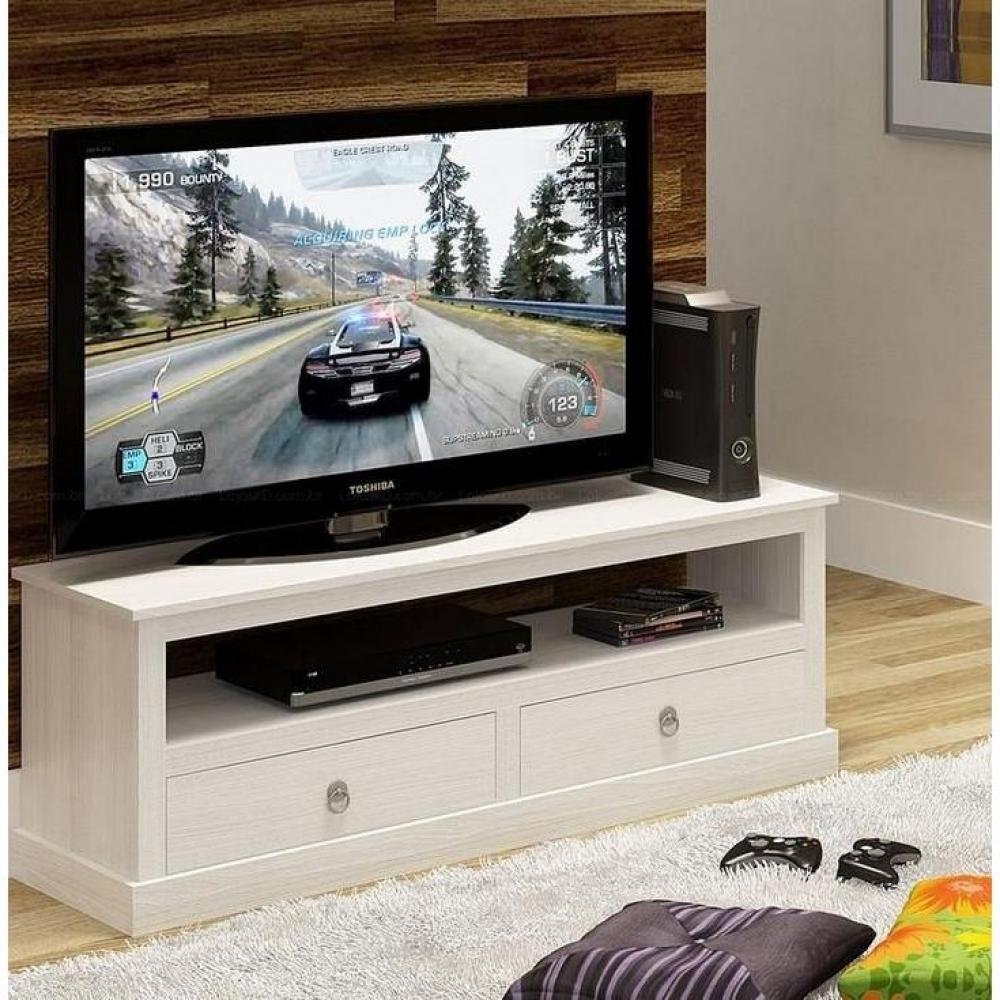 Meuble Tv Ikea En Pin : Meubles Tv, Meubles Et Rangements, Meuble Tv Provence Blanc En Pin
