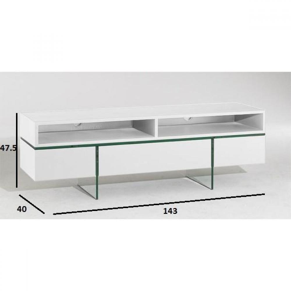 meuble tv blanc romantique – Artzein.com