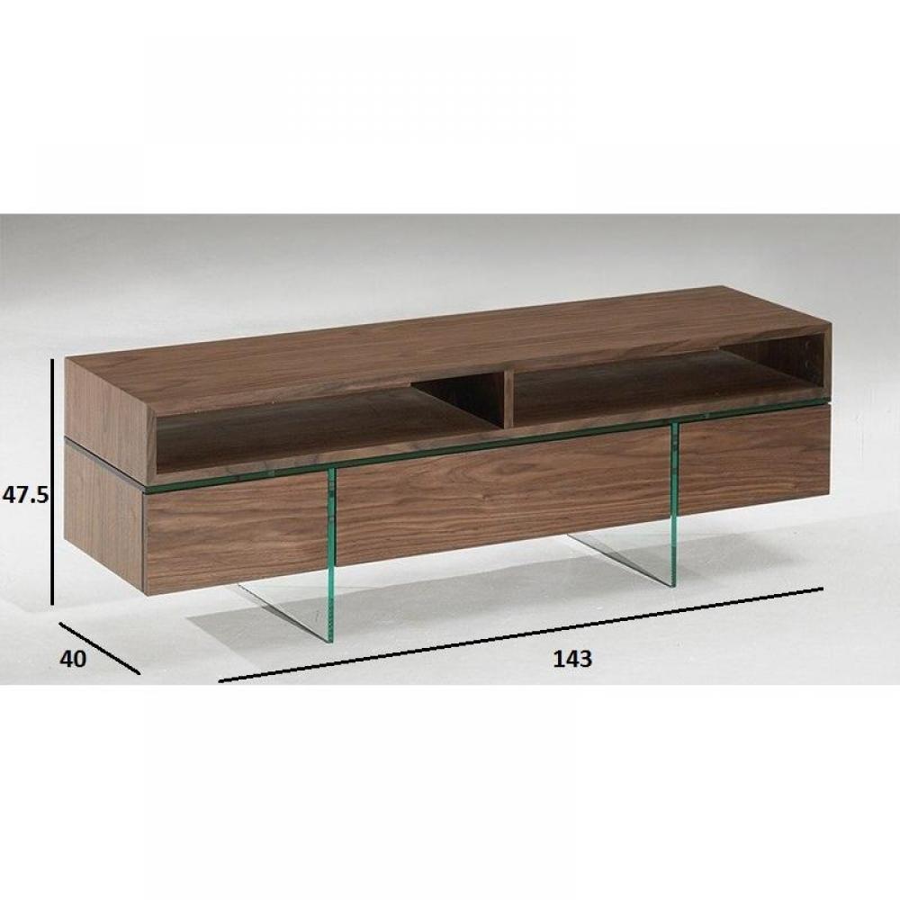 Meubles tv meubles et rangements meuble tv design sigma for Meuble avec porte en verre