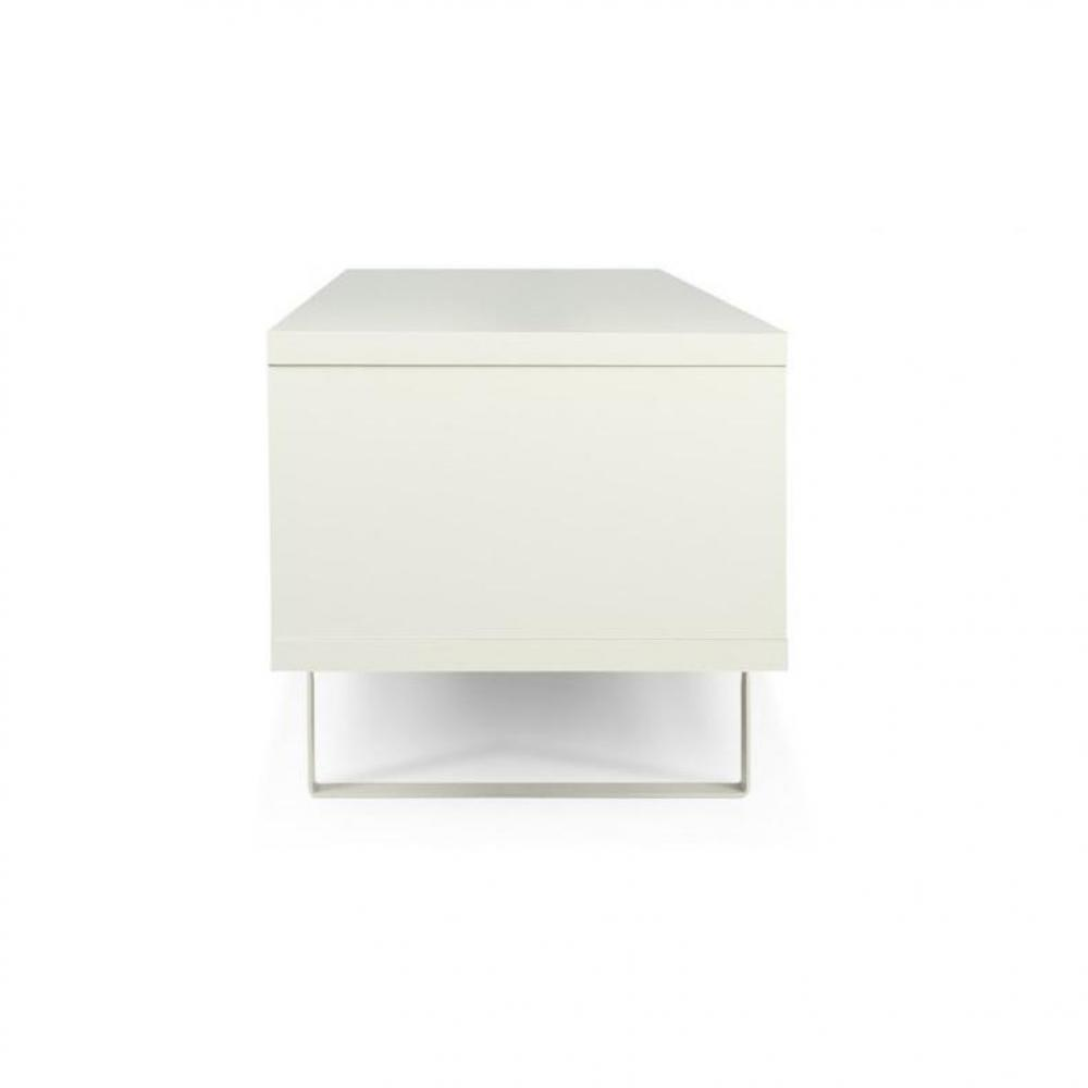 Meuble Tv Slide Blanc : Tv, Meubles Et Rangements, Temahome Slide Meuble Tv Design Blanc