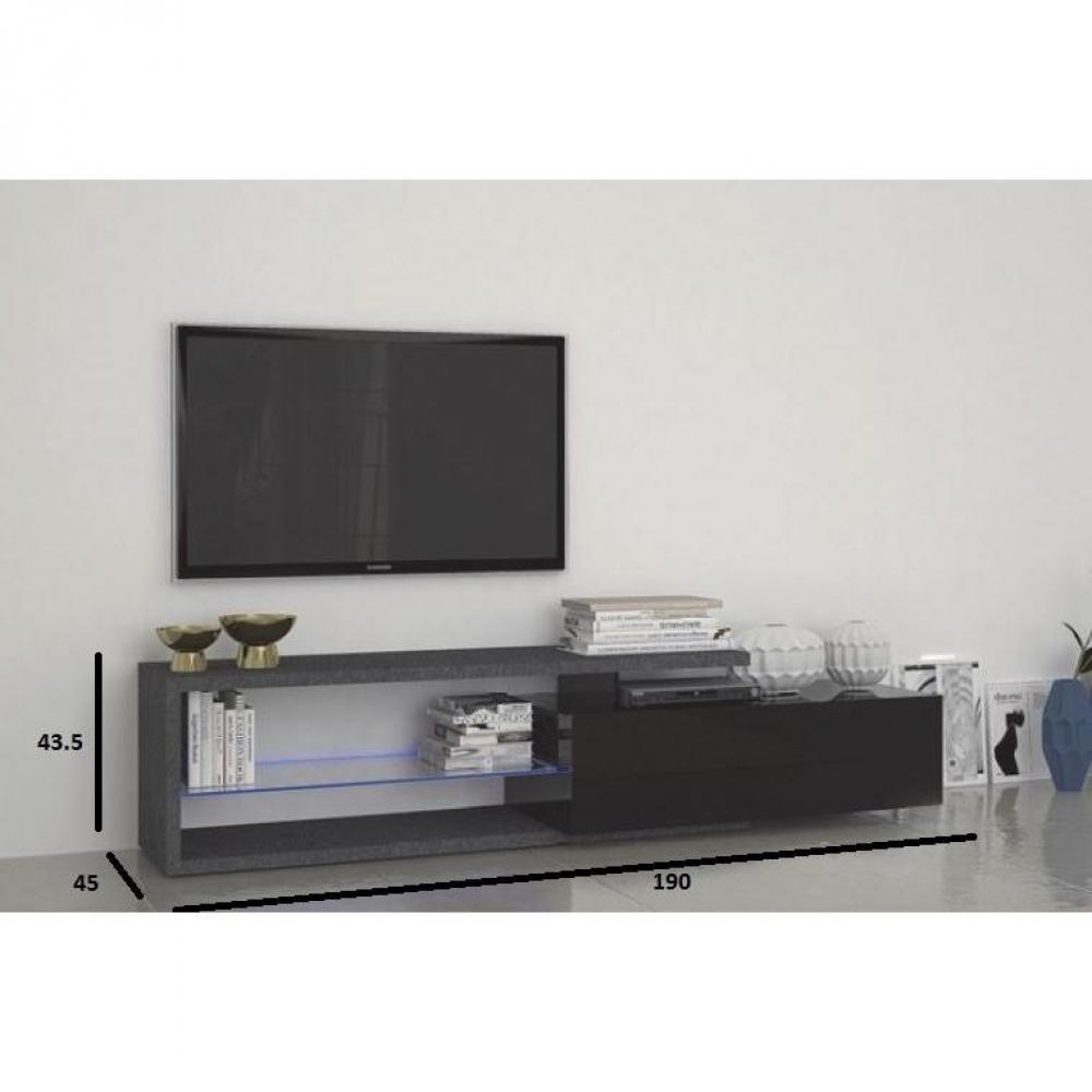 Un Meuble Tv Noir Design Pour Votre Intà ©rieur Tendance Pictures ...