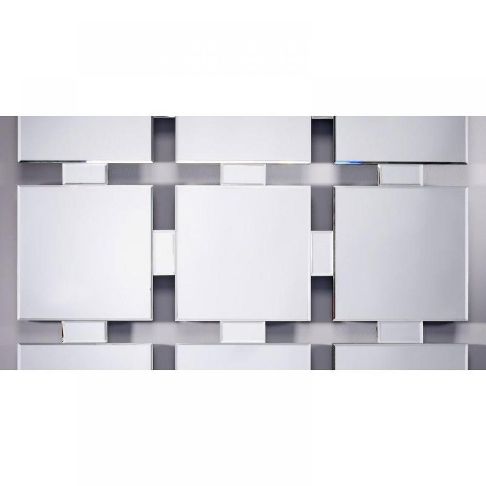 Miroirs meubles et rangements milestones miroir mural en for Miroirs rectangulaires design