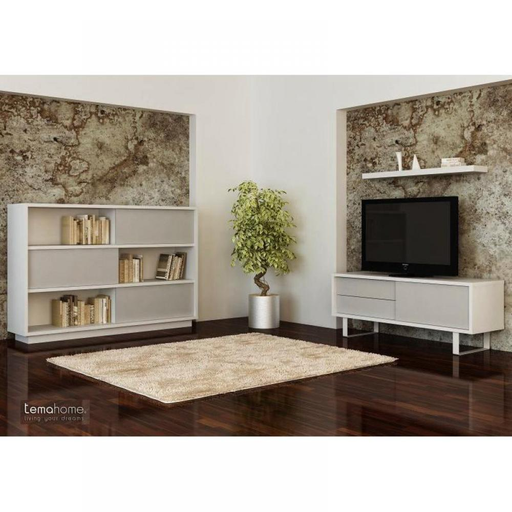 buffets meubles et rangements milo tag re buffet laque blanc meuble design. Black Bedroom Furniture Sets. Home Design Ideas