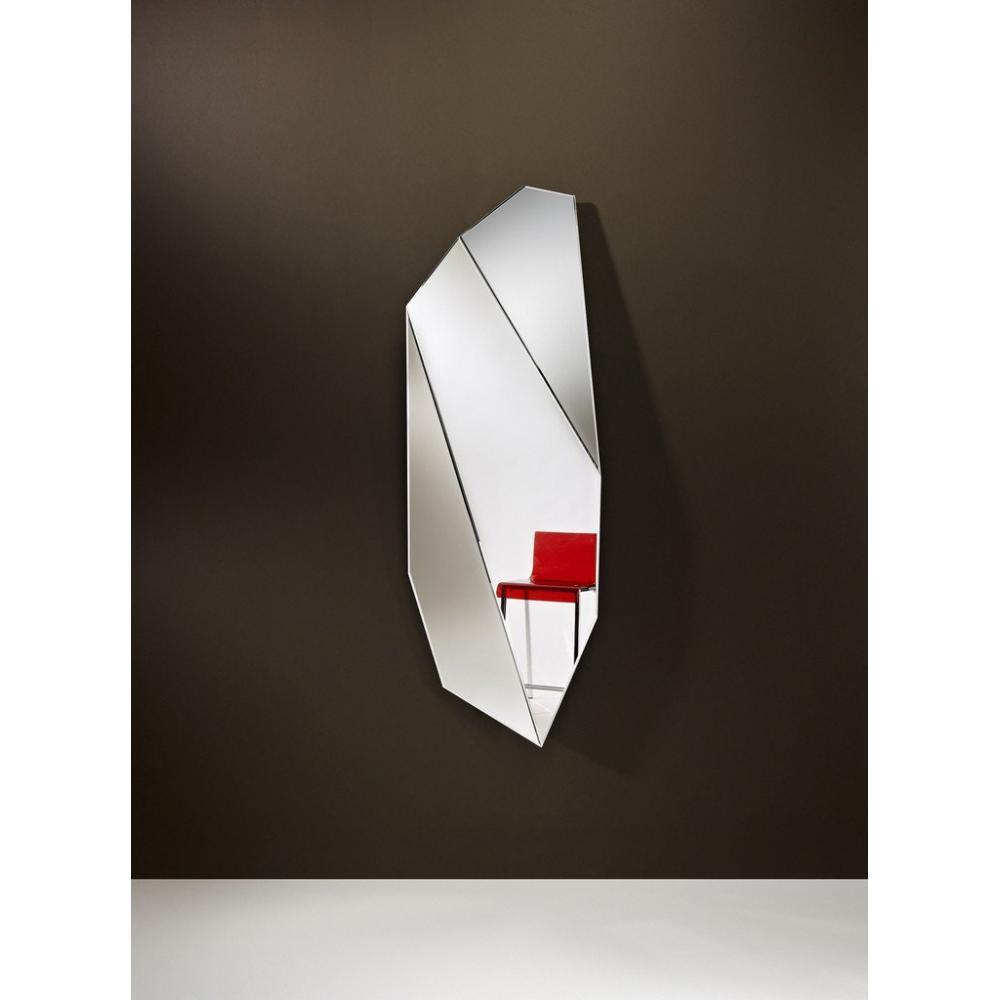 Miroirs canap s et convertibles mirah miroir mural design en verre grand mo - Miroir design belgique ...