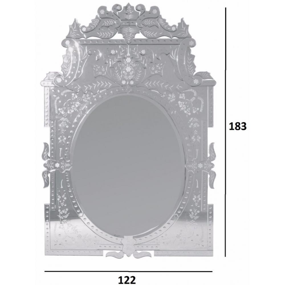 Miroir baroque versailles place du mariage for Miroir baroque design