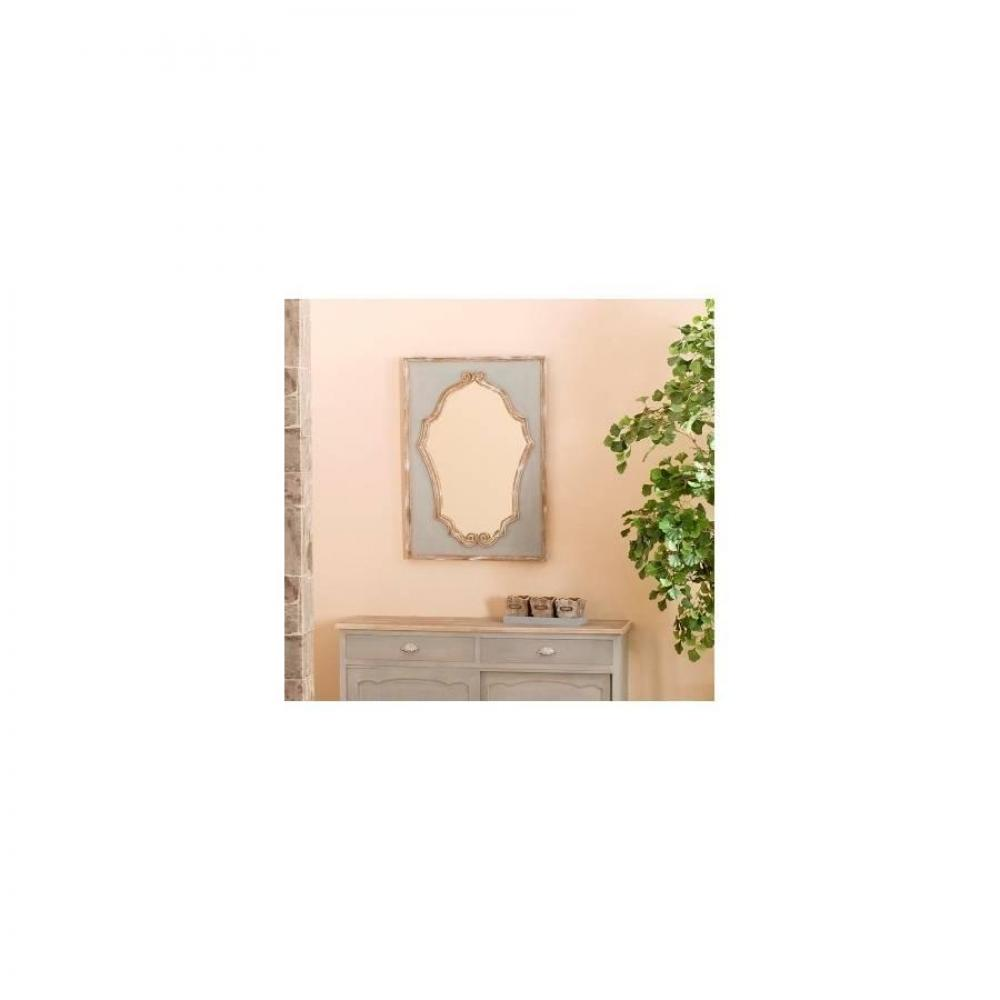 Grands miroirs d corations miroir princesse cassie en for Miroir bois design