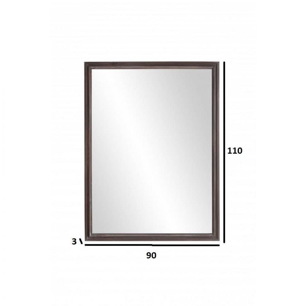 Miroirs meubles et rangements miroir rectangulaire for Miroir rectangulaire 120 cm