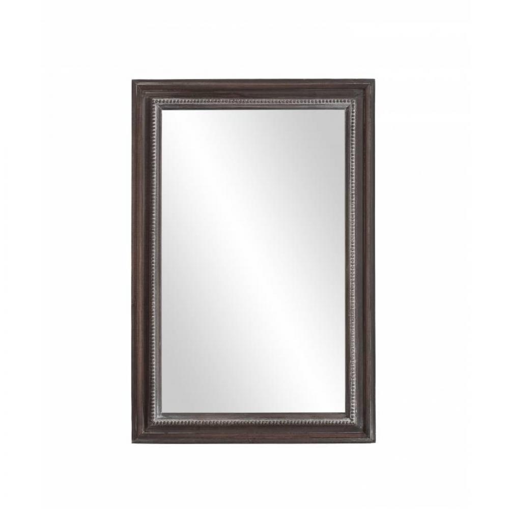Miroirs meubles et rangements miroir rectangulaire for Miroir rectangulaire bois