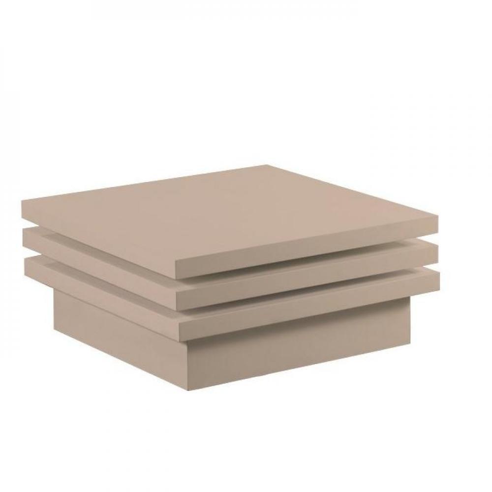Tables basses, tables et chaises, MOOVE table basse modulable carrée laque ta -> Table Carre Modulable