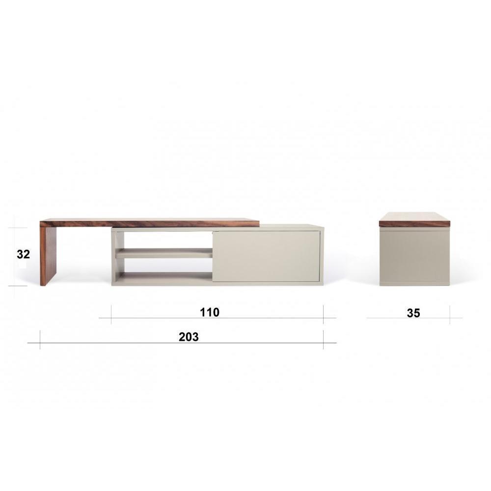Meubles tv meubles et rangements move meuble tv - Meuble tv porte coulissante ...