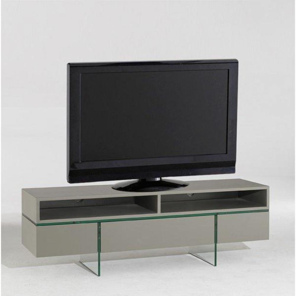 Meubles tv meubles et rangements nova meuble tv avec - Meuble tv couleur taupe ...