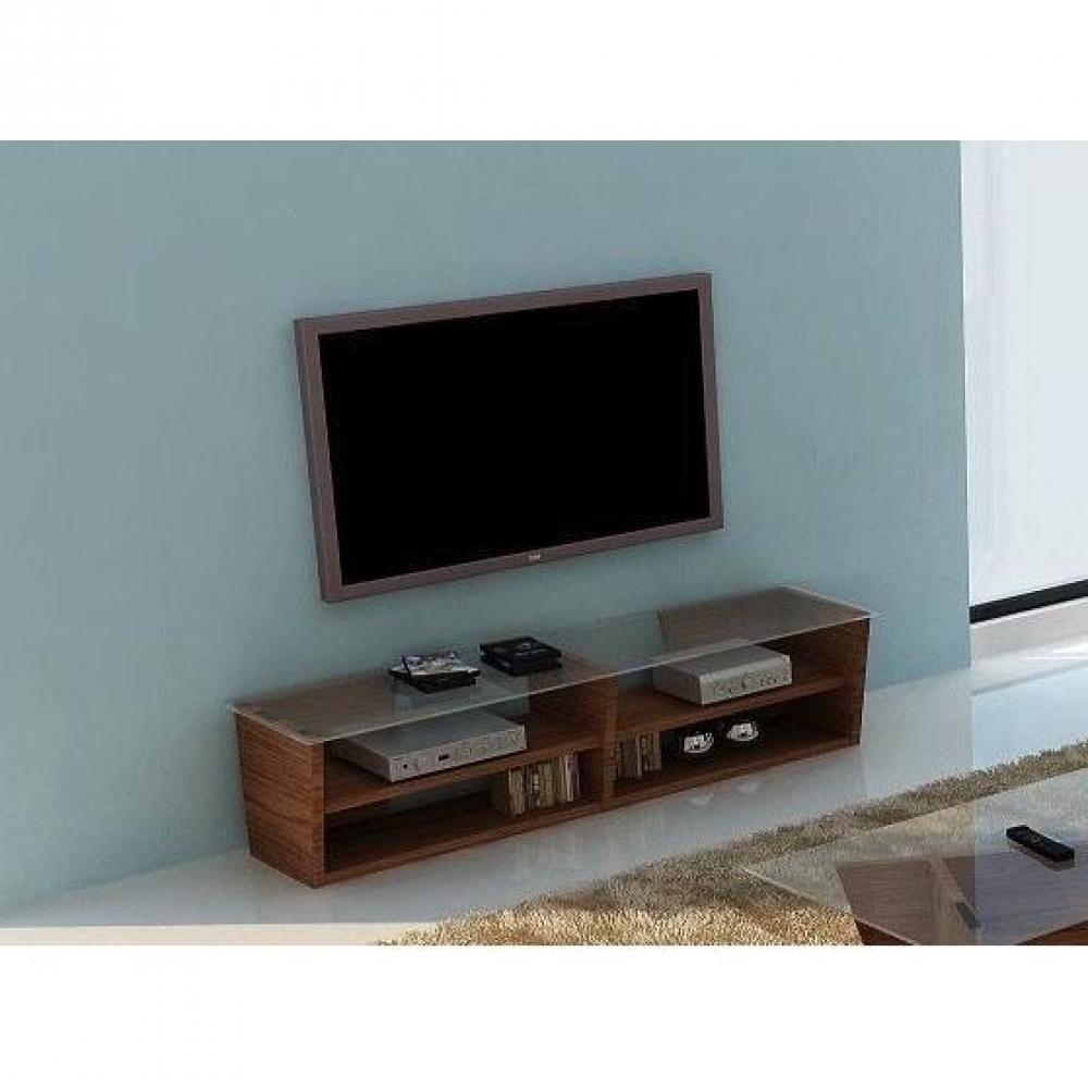 Meubles tv meubles et rangements temahome oliva 170cm meuble tv noyer avec - Meuble tv en verre ikea ...