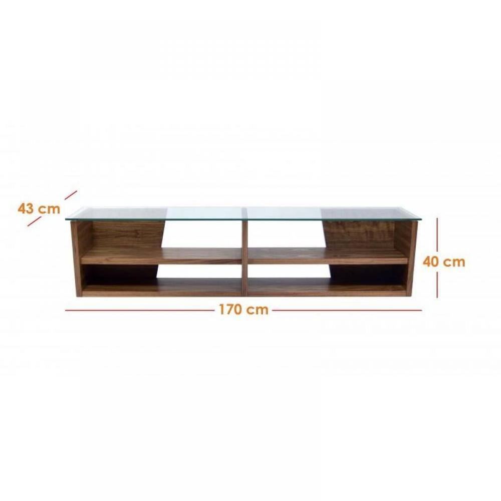table tv verre design - Meuble Tv En Verre Design