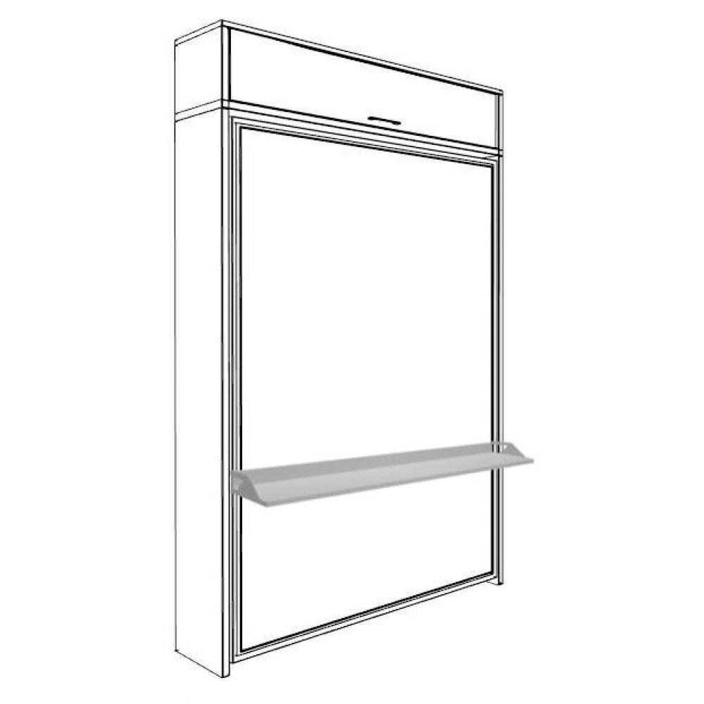 Armoire lit verticale armoires lits escamotables armoire lit escamotable er - Armoire bureau integre ...
