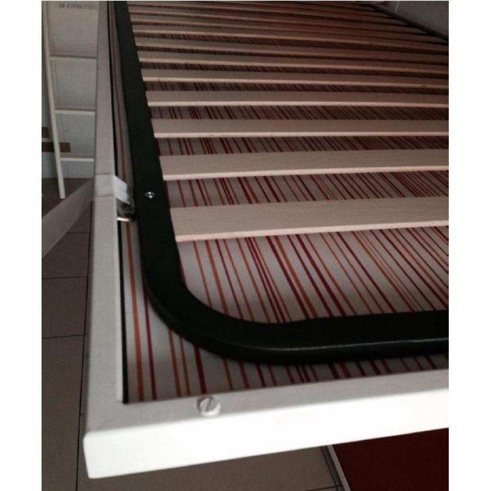 sommier m tallique extra plat 140 200 cm. Black Bedroom Furniture Sets. Home Design Ideas