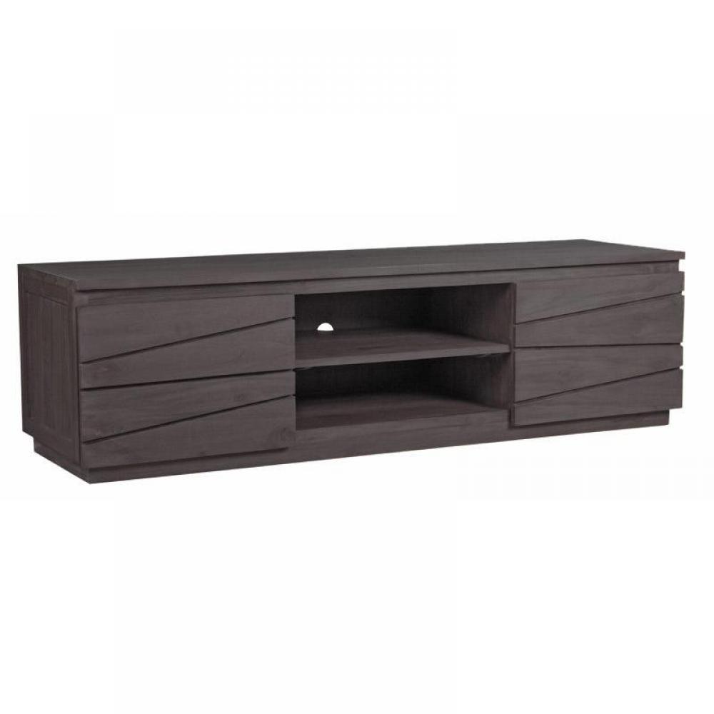 Meubles tv, meubles et rangements, PANAMA meuble tv télé en teck massif style -> Meuble Tv Panama