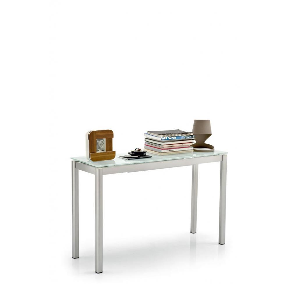 Consoles extensibles meubles et rangements console extensible performance c - Console extensible verre ...